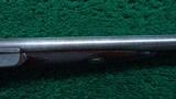 BEAUTIFULLY MADE DOUBLE BARREL 14 GAUGE PERCUSSION SHOTGUN BY JOHN BLANCH - 6 of 25