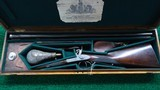 BEAUTIFULLY MADE DOUBLE BARREL 14 GAUGE PERCUSSION SHOTGUN BY JOHN BLANCH - 24 of 25