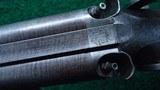 BEAUTIFULLY MADE DOUBLE BARREL 14 GAUGE PERCUSSION SHOTGUN BY JOHN BLANCH - 13 of 25