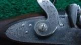 BEAUTIFULLY MADE DOUBLE BARREL 14 GAUGE PERCUSSION SHOTGUN BY JOHN BLANCH - 15 of 25