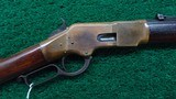 VERY FINE EARLY HENRY MARKED WINCHESTER 1866 2ND MODEL RIFLE