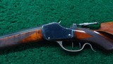 DELUXE SCHUETZEN DOUBLE SET TRIGGER WINCHESTER RIFLE - 2 of 17