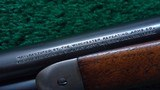 WINCHESTER MODEL 1886 SEMI DELUXE PISTOL GRIP CHECKERED LIGHT WEIGHT RIFLE IN CALIBER 33 WCF - 12 of 19