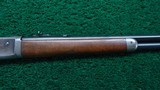 WINCHESTER MODEL 1886 SEMI DELUXE PISTOL GRIP CHECKERED LIGHT WEIGHT RIFLE IN CALIBER 33 WCF - 5 of 19