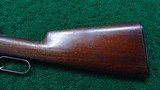 WINCHESTER MODEL 1886 LIGHT WEIGHT RIFLE IN CALIBER 33 WCF - 15 of 19