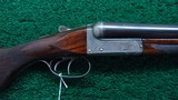 W.C. SCOTT SXS 12 GAUGE SHOTGUN