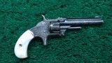 VERY BEAUTIFUL ENGRAVED SMITH & WESSON NO. 1 3RD ISSUE REVOLVER