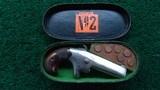 CASED ENGRAVED No. 2 DERRINGER IN CALIBER 41 RF - 8 of 11