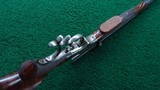 VERY FINE STEVENS POPE FACTORY ENGRAVED TARGET RIFLE - 3 of 22