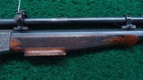 VERY FINE STEVENS POPE FACTORY ENGRAVED TARGET RIFLE - 5 of 22