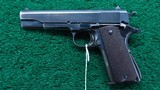 RARE COLT 1911 FROM ARGENTINE 1941 NAVY CONTRACT with the Swartz Safety device - 2 of 21