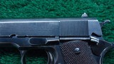 RARE COLT 1911 FROM ARGENTINE 1941 NAVY CONTRACT with the Swartz Safety device - 9 of 21