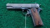 WW1 COLT 1911 PISTOL IN 45 ACP - 2 of 16