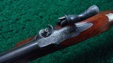 CASED PAIR OF J. MANTON SMALL PERCUSSION RIFLES - 9 of 23