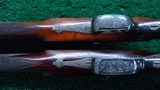 CASED PAIR OF J. MANTON SMALL PERCUSSION RIFLES - 12 of 23