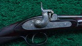 CASED PAIR OF J. MANTON SMALL PERCUSSION RIFLES - 3 of 23