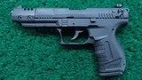 WALTHER P22 TARGET PISTOL IN 22 LR CALIBER - 2 of 15