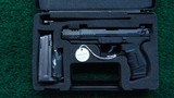 WALTHER P22 TARGET PISTOL IN 22 LR CALIBER - 6 of 15