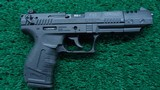 WALTHER P22 TARGET PISTOL IN 22 LR CALIBER - 1 of 15