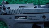 WALTHER P22 TARGET PISTOL IN 22 LR CALIBER - 7 of 15