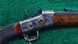 VERY INTERESTING WHITNEY ARMS ROLLING BLOCK IN CALIBER 40-60