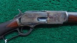 WINCHESTER MODEL 1876 DELUXE SPECIAL ORDER SHORT RIFLE IN 50 EXPRESS