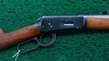 WINCHESTER 1894 RIFLE IN CALIBER 30-30 - 1 of 18