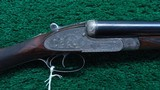 BEAUTIFUL HOLLAND & HOLLAND DOUBLE BARREL 12 GAUGE