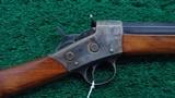 REMINGTON MODEL NO. 2 SPORTING RIFLE IN 32 RIMFIRE