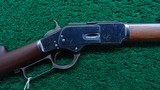 VERY FINE SPECIAL ORDER 2ND MODEL 1873 WINCHESTER RIFLE IN CALIBER 38 WCF