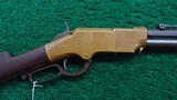 LATE PRODUCTION HENRY RIFLE - 1 of 19
