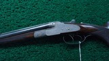 CASED J P SAUER DOUBLE RIFLE IN DESIRABLE CALIBER 9.3 X 72R - 2 of 24
