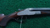 CASED J P SAUER DOUBLE RIFLE IN DESIRABLE CALIBER 9.3 X 72R - 1 of 24