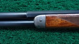 EXTREMELY SCARCE WINCHESTER MODEL 94 DELUXE RIFLE WITH SPECIAL ORDER SILVER TRIM - 11 of 16