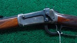EXTREMELY SCARCE WINCHESTER MODEL 94 DELUXE RIFLE WITH SPECIAL ORDER SILVER TRIM - 2 of 16