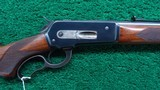 DELUXE WINCHESTER MODEL 71 WITH LONG TANG