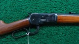 HIGH CONDITION WINCHESTER 92 RIFLE IN CALIBER 25-20