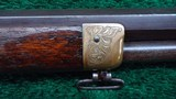 EARLY NIMSCHKE ENGRAVED 1866 WINCHESTER SPORTING RIFLE - 14 of 21