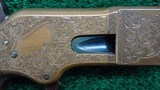 EARLY NIMSCHKE ENGRAVED 1866 WINCHESTER SPORTING RIFLE - 8 of 21
