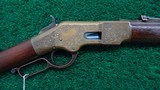 EARLY NIMSCHKE ENGRAVED 1866 WINCHESTER SPORTING RIFLE - 1 of 21