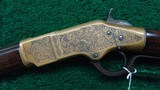 WINCHESTER 1866 ENGRAVED RIFLE - 2 of 18
