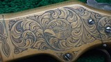 WINCHESTER 1866 ENGRAVED RIFLE - 8 of 18