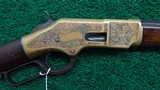 WINCHESTER 1866 ENGRAVED RIFLE - 1 of 18