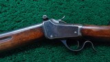 WINCHESTER MODEL 1885 LO-WALL WINDER MUSKET CALIBER 22 SHORT - 2 of 19