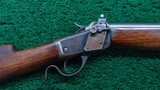 WINCHESTER MODEL 1885 LO-WALL WINDER MUSKET CALIBER 22 SHORT - 1 of 19
