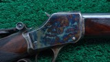 WINCHESTER MODEL 1885 DELUXE HI-WALL RIFLE IN SCARCE CALIBER 30 US - 8 of 20