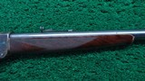 WINCHESTER MODEL 1885 DELUXE HI-WALL RIFLE IN SCARCE CALIBER 30 US - 5 of 20