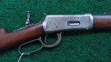 WINCHESTER MODEL 94 RIFLE IN CALIBER 25-35 - 1 of 16