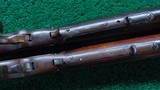 CONSECUTIVE PAIR OF WINCHESTER MODEL 1876 RIFLES BOTH IN CALIBER 40-60 WCF - 13 of 19