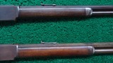 CONSECUTIVE PAIR OF WINCHESTER MODEL 1876 RIFLES BOTH IN CALIBER 40-60 WCF - 6 of 19